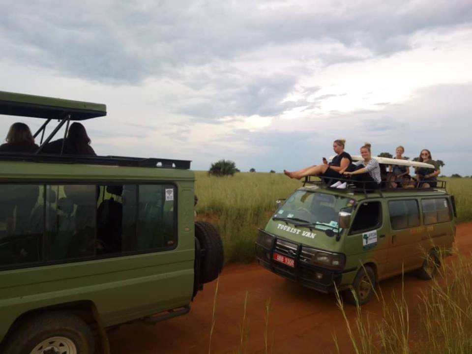 How to get to Murchison falls National Park.